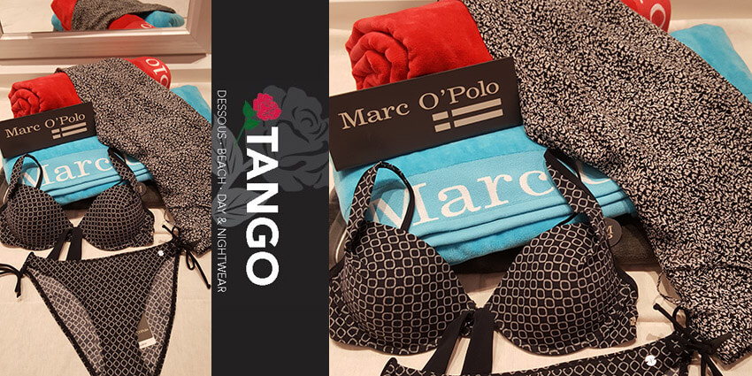 black beauty tankini bikini tuniken von marc o polo bei tango. Black Bedroom Furniture Sets. Home Design Ideas