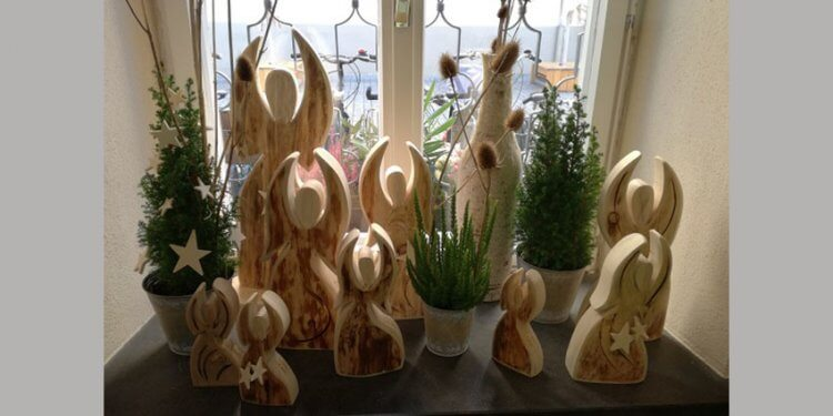 Wundervolle Schutz-Weihnachtsengel