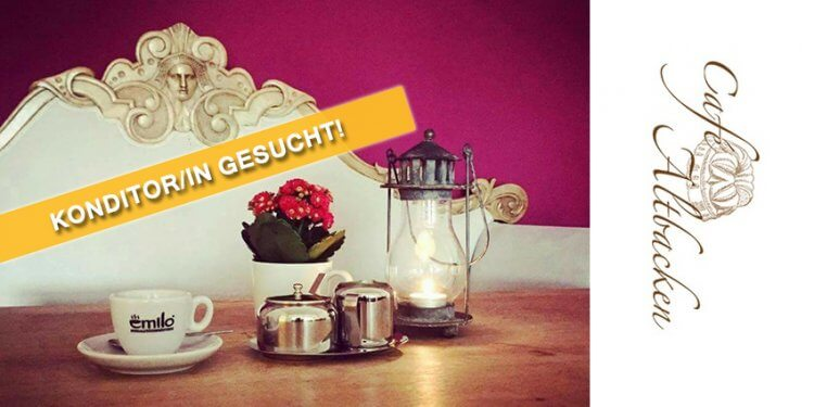 Das Cafe Altbacken in Stephanskirchen sucht zur Verstärkung seines Teams eine/n Konditor/in in Voll- oder je nach Absprache auch Teilzeit auf Festanstellung. Jetzt Bewerbung senden - hier gibt´s alle Infos zur Stellenausschreibung.