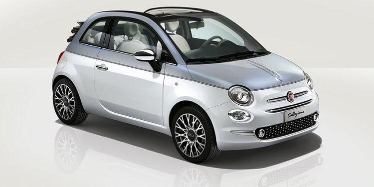 Fiat 500 Collezione: Verfügbar mit bivalentem Motor, der mit Benzin und Autogas (LPG) arbeitet. UconnectTM auch mit LINK-Technologie verfügbar, die das Spiegeln kompatibler Smartphones ermöglicht.