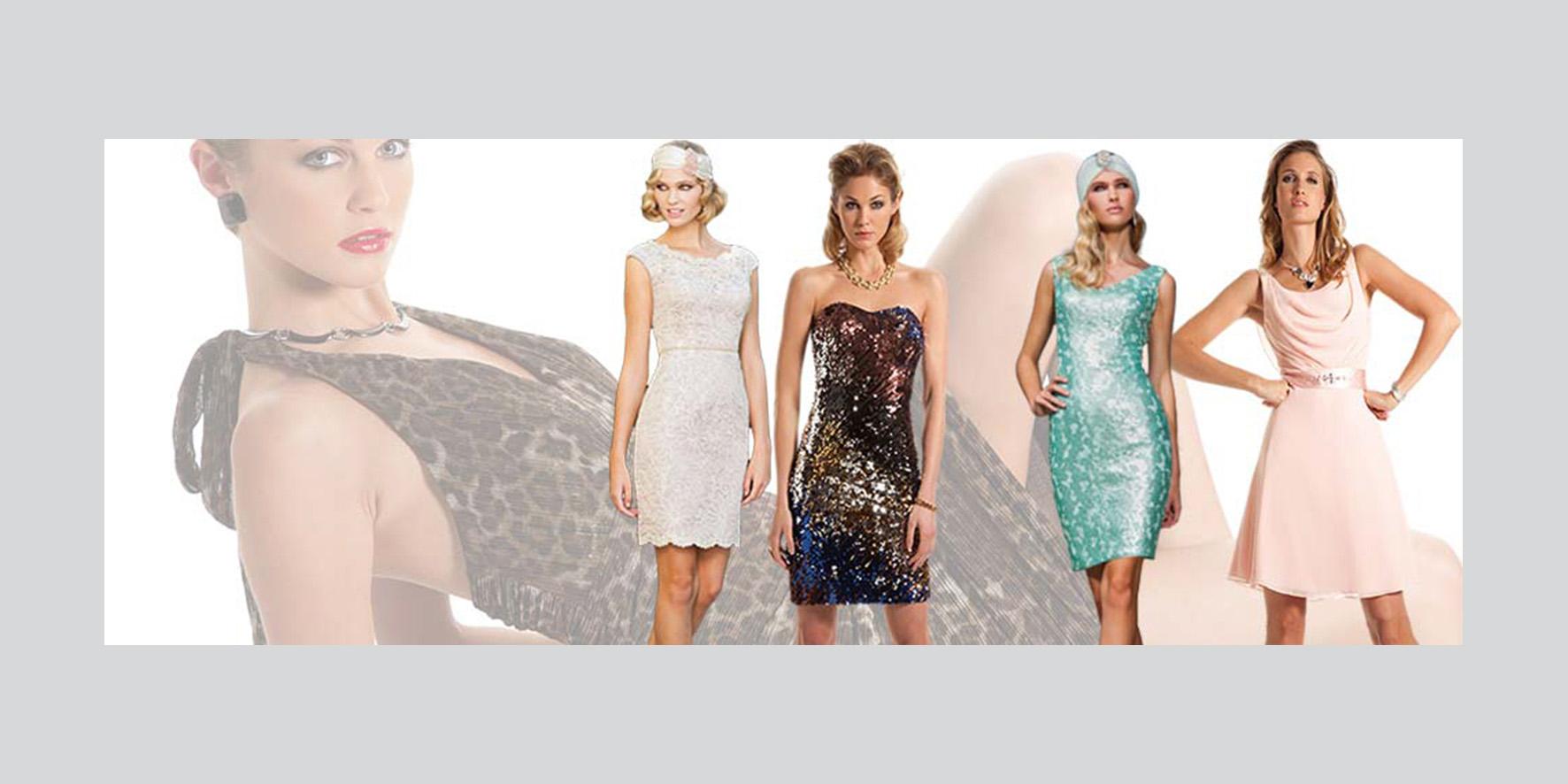 Party- und Abendkleider von Sonia Pena bei Brautparadies