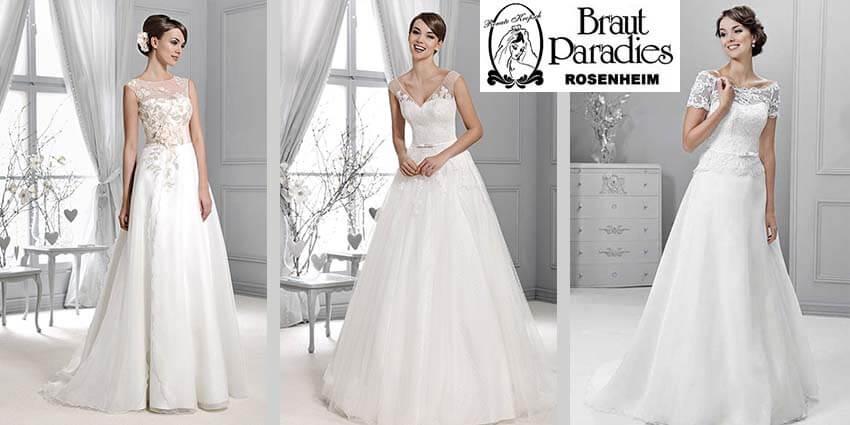 Hochzeitskleider Brautmodentrends 2016: Tüll und Spitze