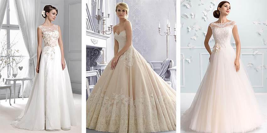 Die neue Brautmode: Ausgefallene Arm- und Dekolletelösungen