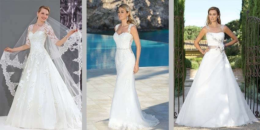 Neue Brautmoden-Trends bei Brautparadies in Rosenheim