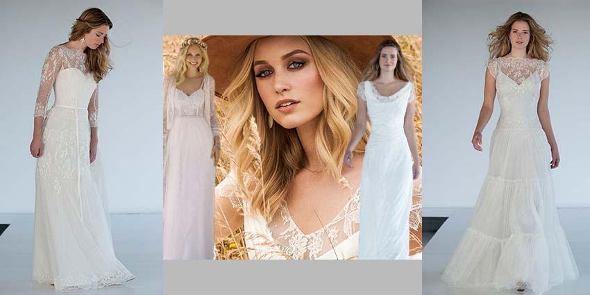 Die neuen Vintage Brautkleider bei Brautparadies Rosenheim