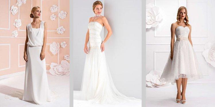 Brautkleider für´s Standesamt