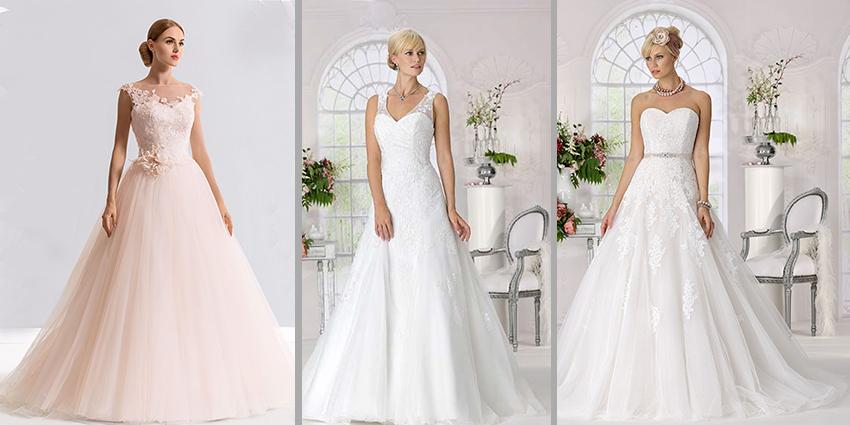 Märchenhafte Hochzeitskleider in Spitze: verträumt & romantisch