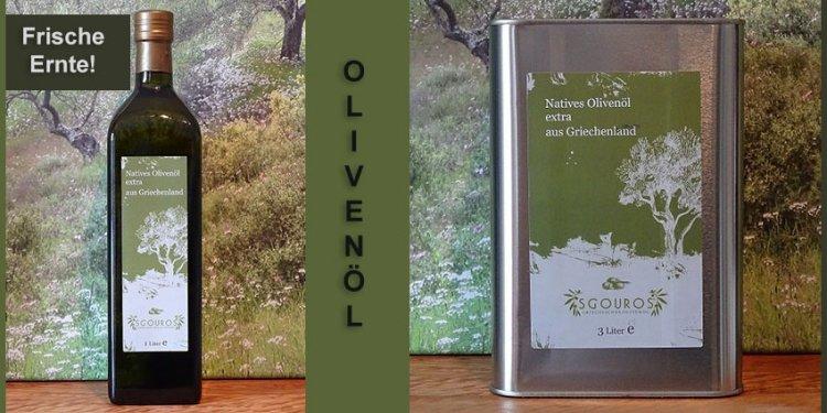 Olivenöl aus Korfu