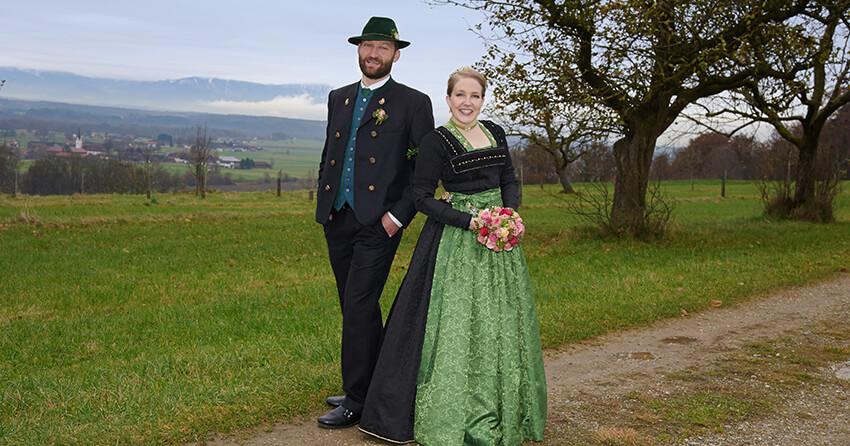 Hochzeit Nach Mass Dank Der Massschneiderei Von Chiemgau Trachten