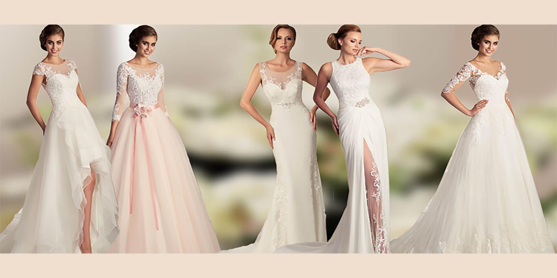 Brautkleider im Sommer - Vintage, Rüschen, Spitze und mehr.