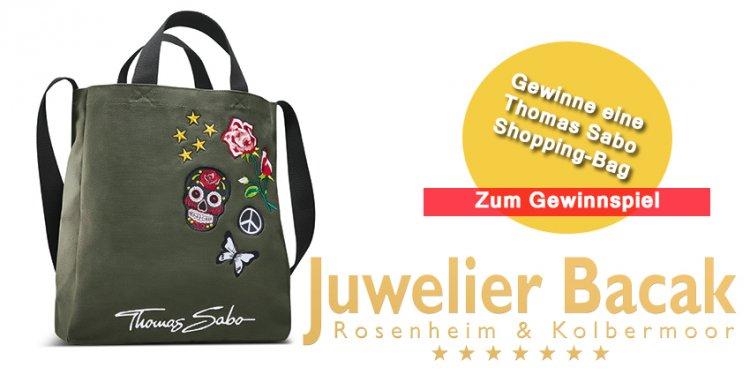 Jetzt mitmachen und im Rahmen unseres Gewinnspiels einen Thomas Sabo Shopper bei Juwelier Bacak in Rosenheim und Kolbermoor gewinnen.