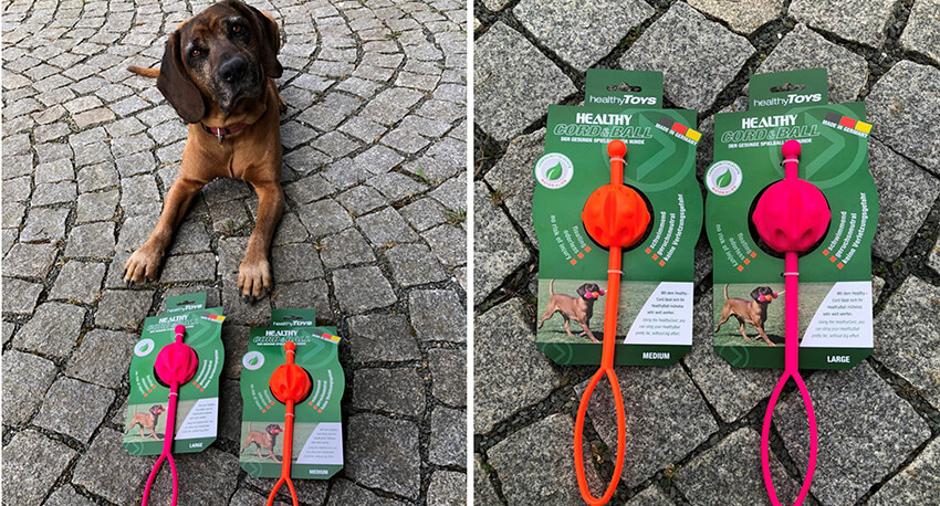 Healthy Toys: Gesundes Hunde-Spielzeug made in Kolbermoor