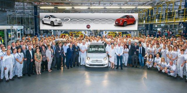 Jubiläumsmodell aus der Fabrik in Polen ist ein Cabriolet Fiat 500C Collezione. Ikonische Baureihe wird in mehr als 100 Ländern weltweit verkauft. 80 Prozent der Produktion werden außerhalb von Italien abgesetzt. Mit knapp 60.000 verkauften Einheiten ist das erste Quartal 2018 das beste in der elfjährigen Bauzeit.