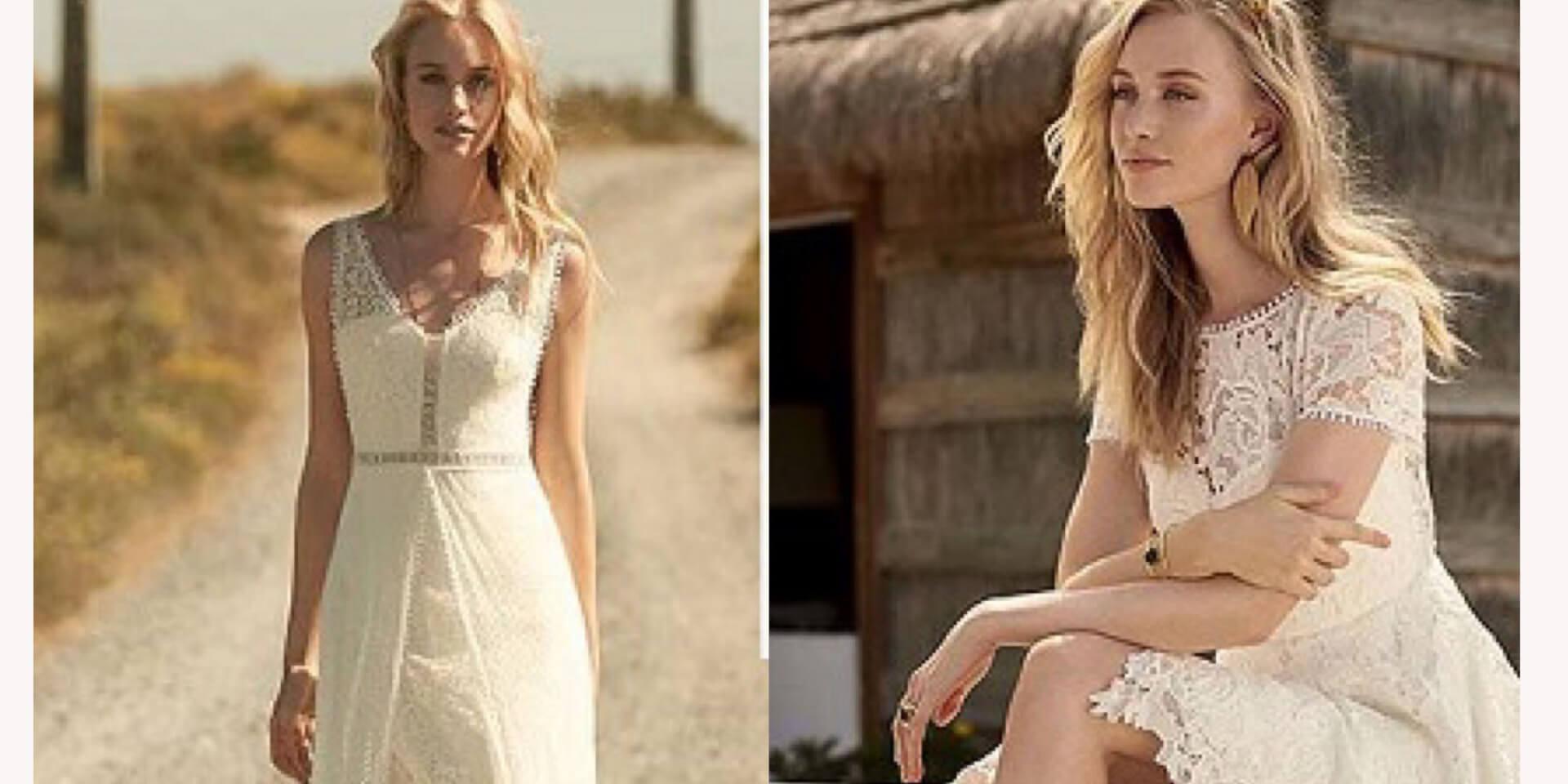 Boho-Brautkleider 14: Feenhaft leicht und herrlich sommerlich