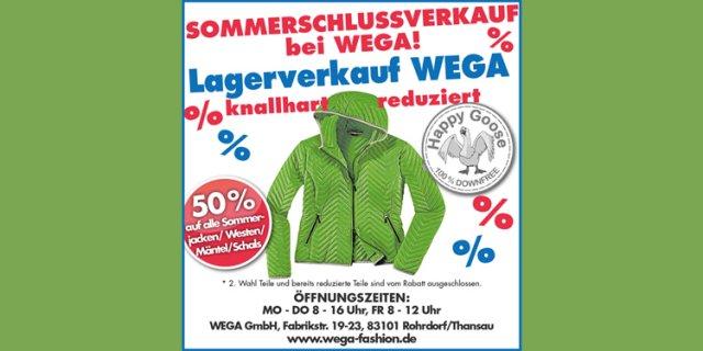 Sommerschlussverkauf 2018: WEGA hat knallhart reduziert